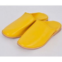 Fes Round Slippers Yellow