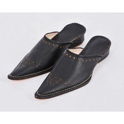 Woman Slippers Yakout Black